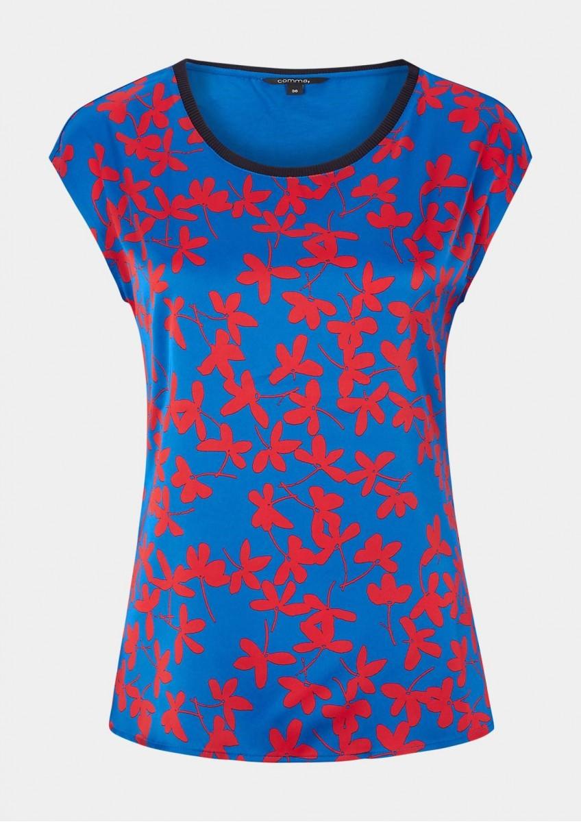 Женская футболка - Ткань-микс