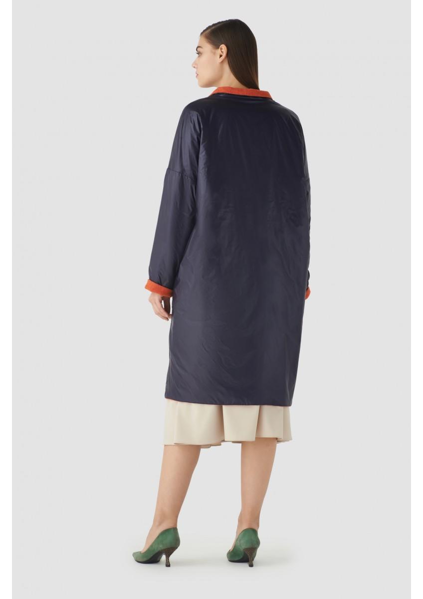 Женское пальто двухслойное