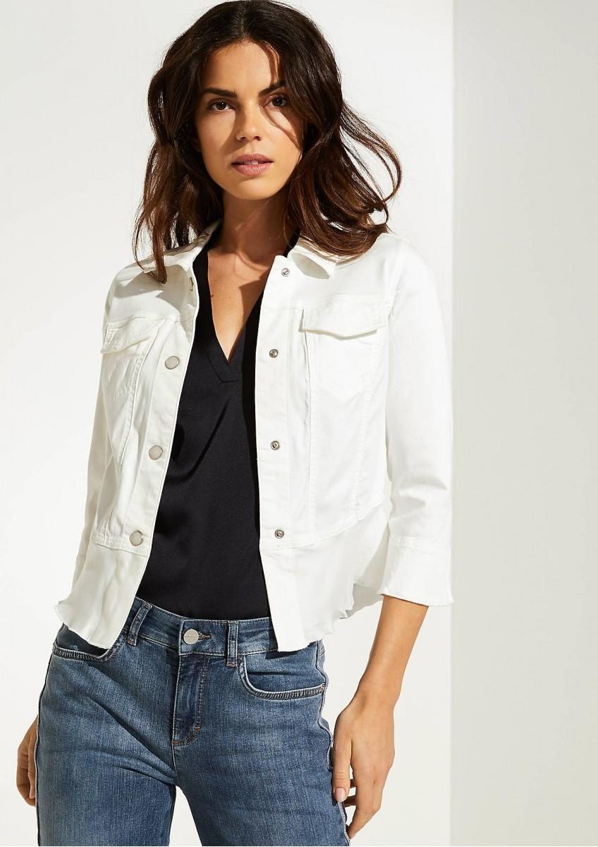 Женская атласная куртка