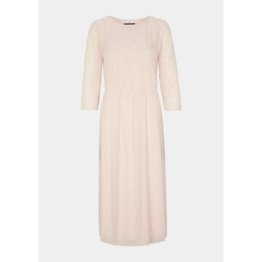 Женское платье в горошек