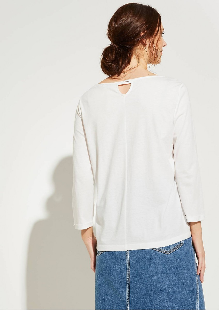 Женская футболка с длинным рукавом