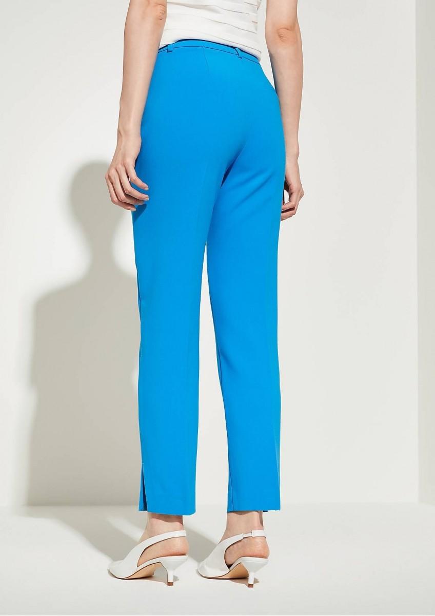 Женские брюки небесно-синего цвета