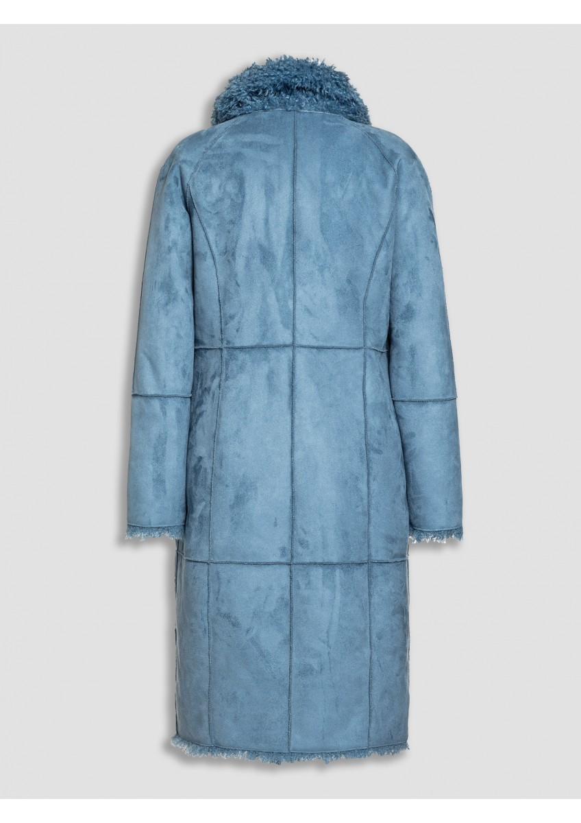 Женское двустороннее пальто