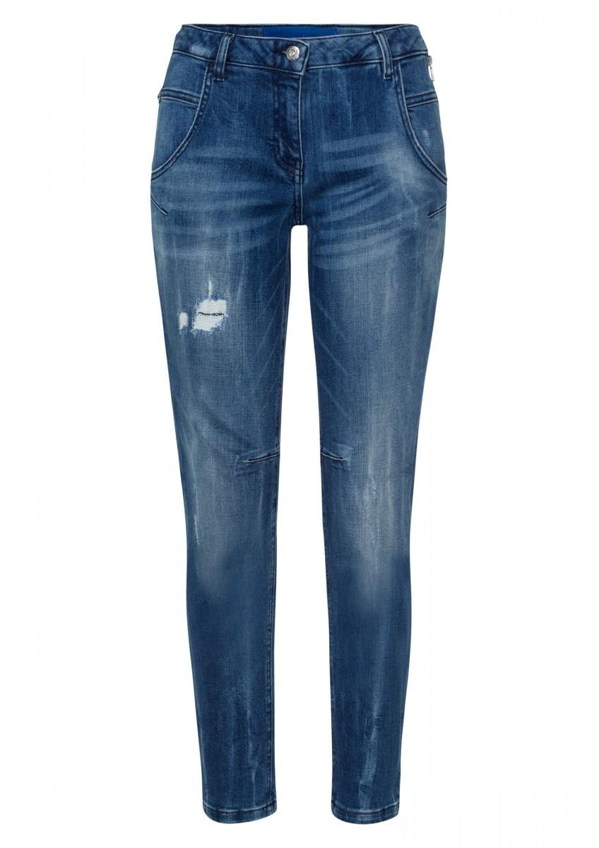 Женские свободные джинсы