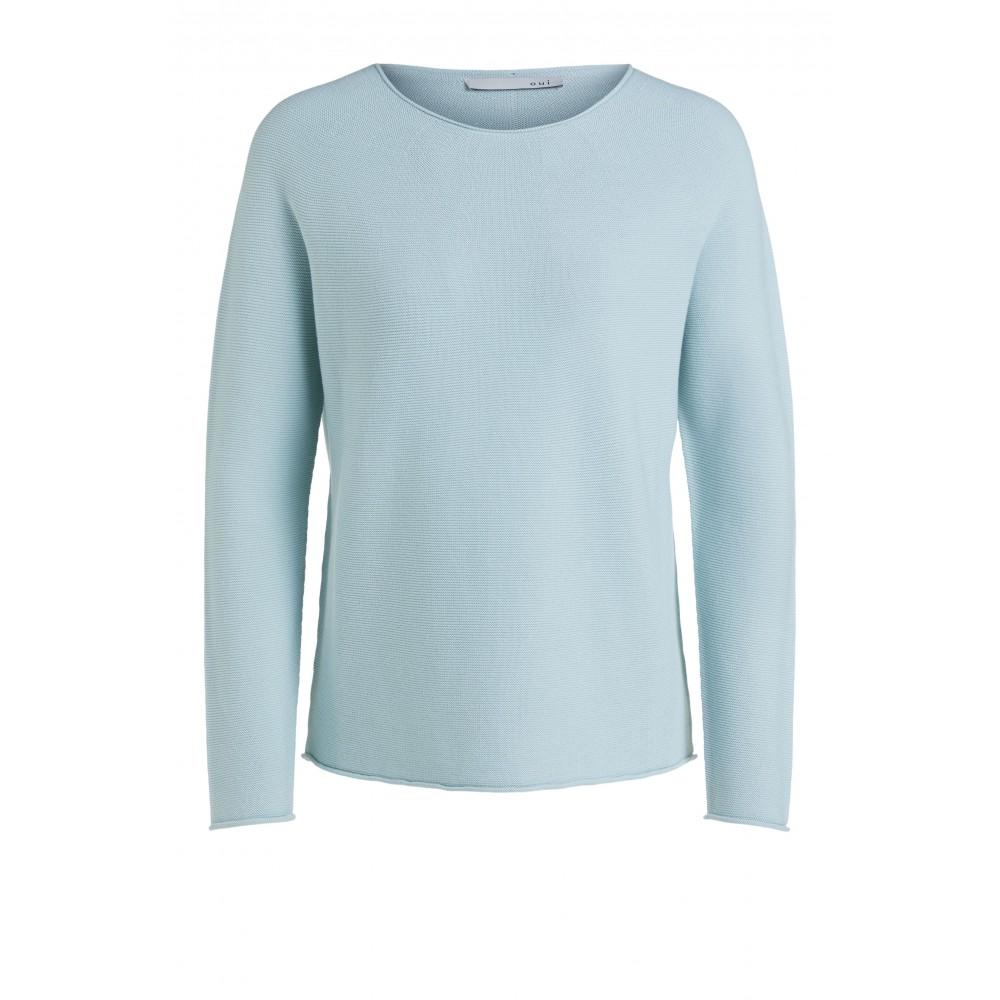 Женский пуловер оверсайз
