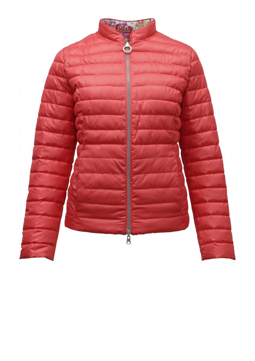 Женская двухсторонняя куртка с узором Пейсли