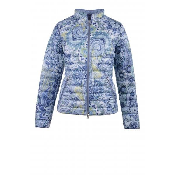 Двухсторонняя куртка с узором Пейсли