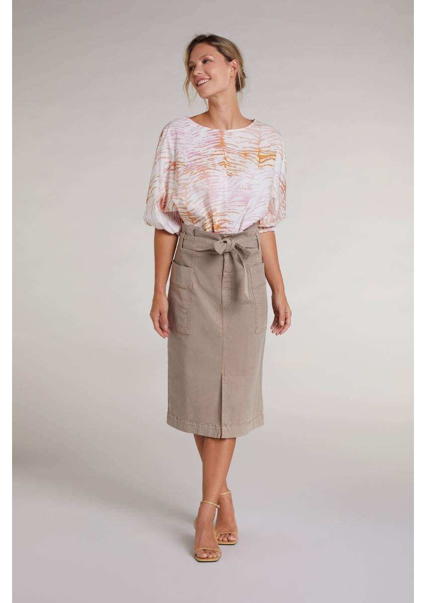Женская юбка миди