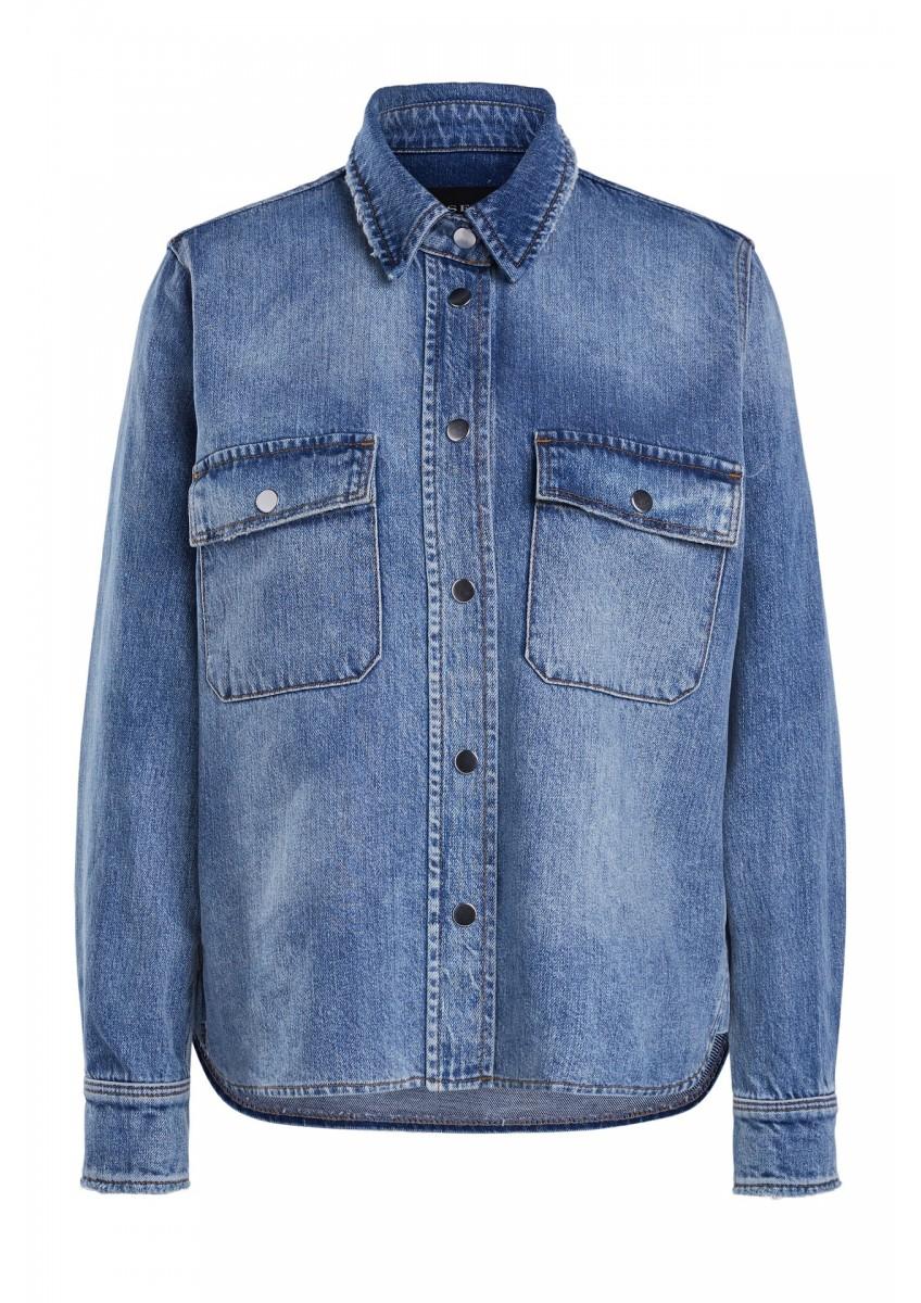 Женская джинсовая блузка