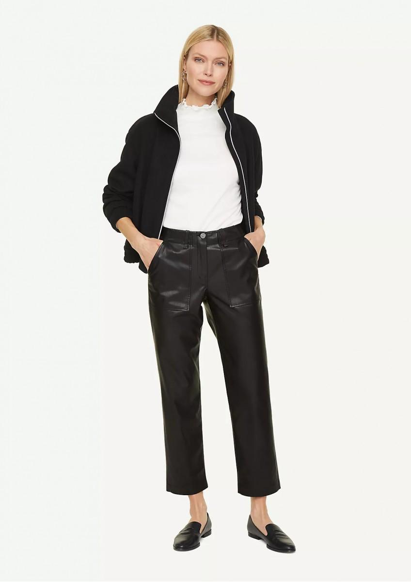 Женские брюки из искусственной кожи