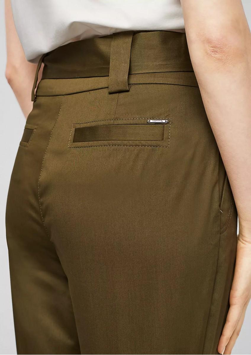 Женские брюки из тканой ткани