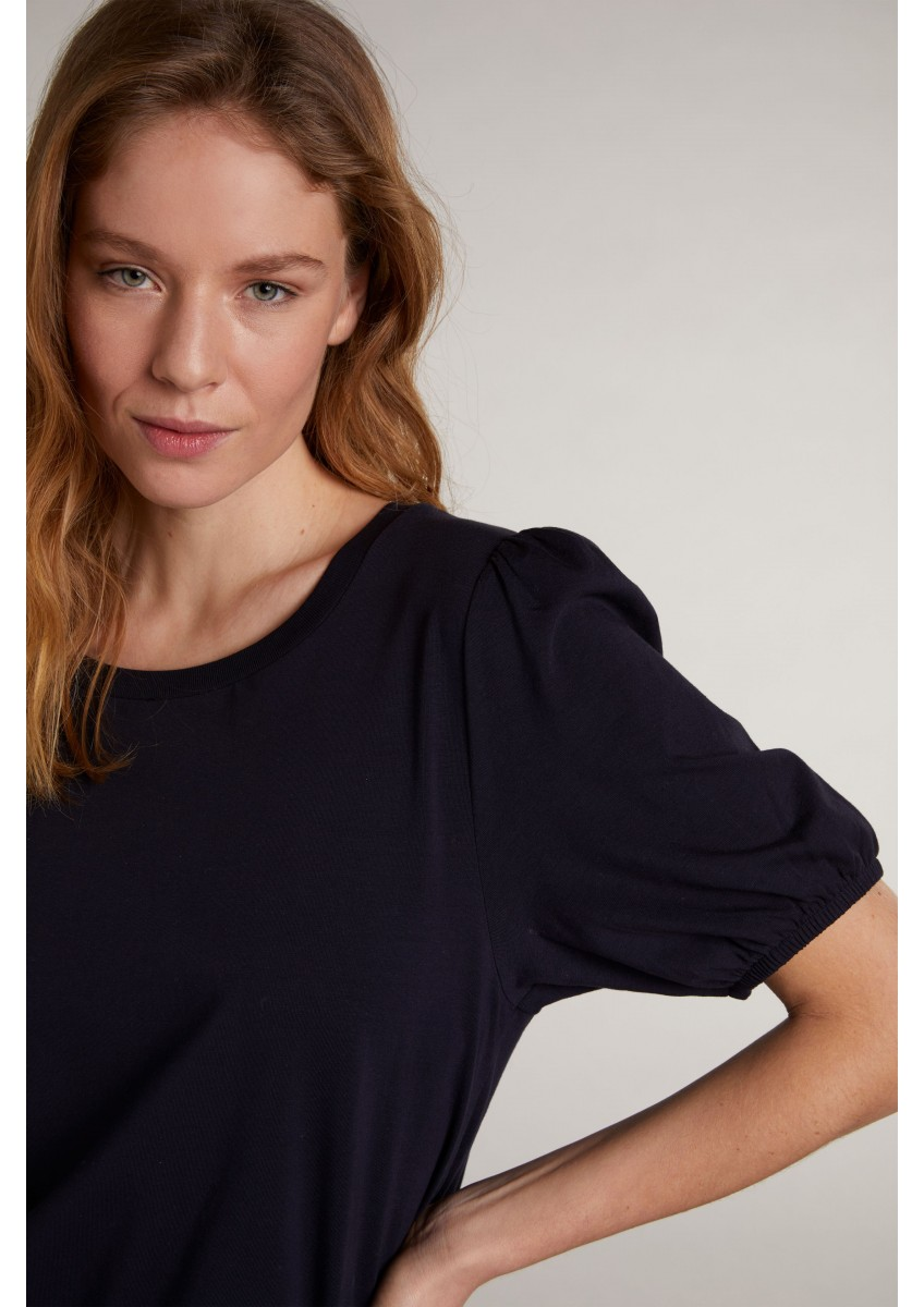 Женская футболка с рукавами-фонариками