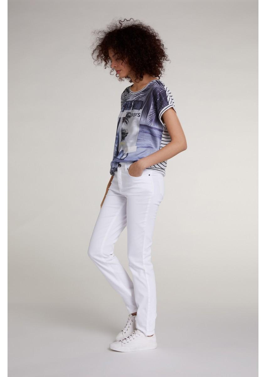 Женская футболка с фото-мотивом