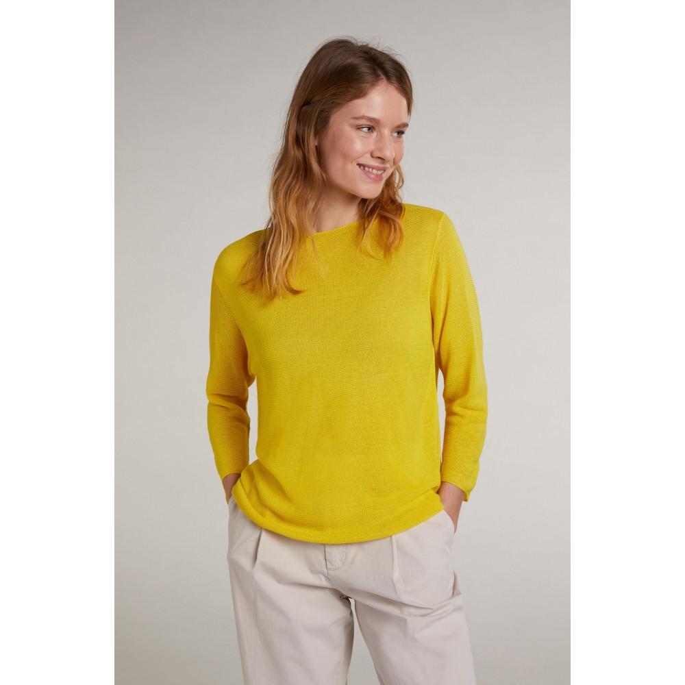 Женский желтый джемпер