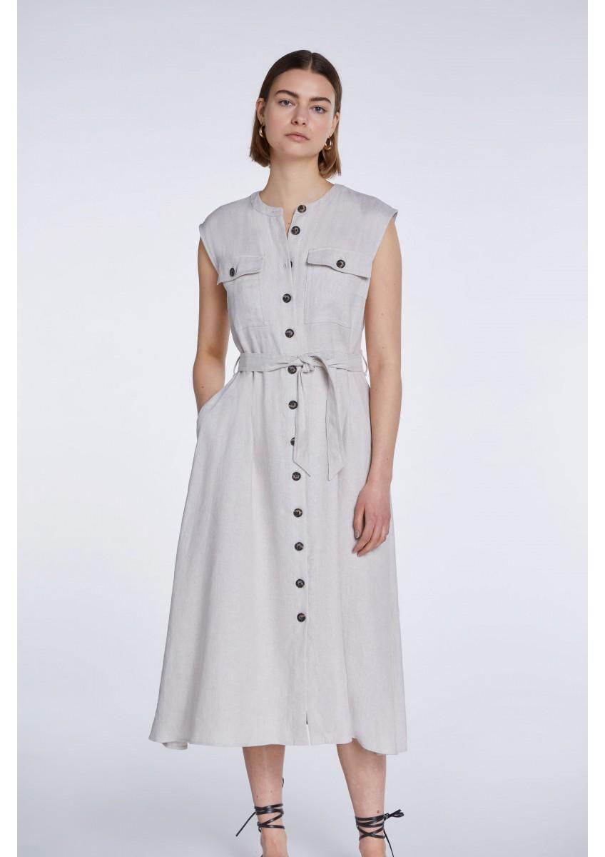 Женское летнее платье-рубашка