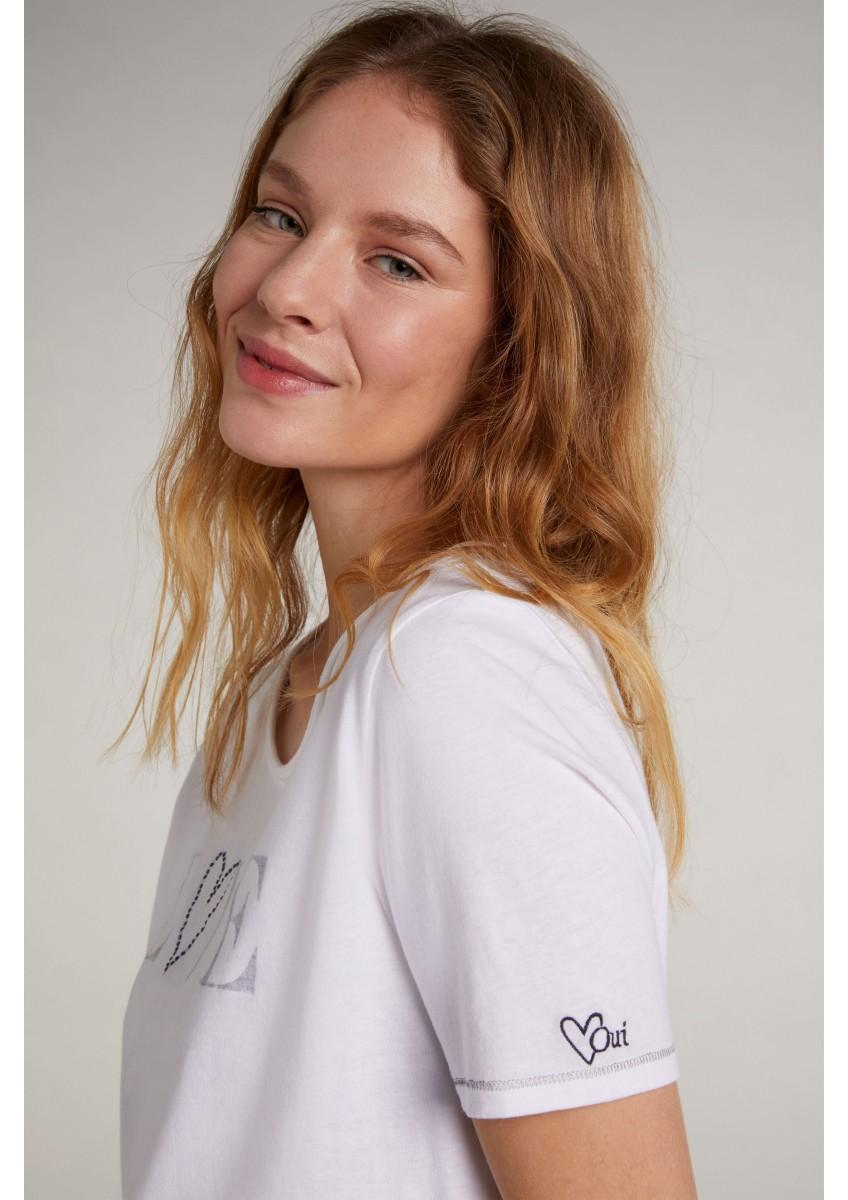 Женская футболка из органического хлопка