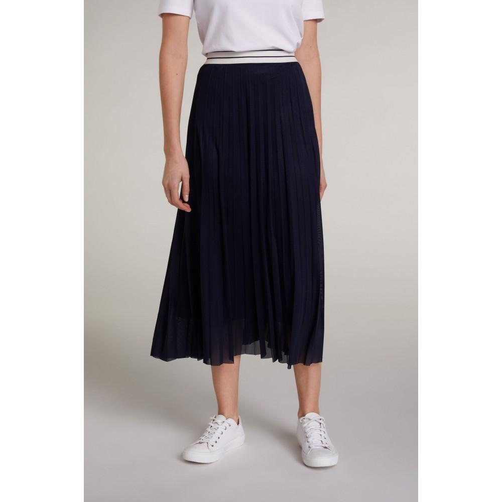 Женская плиссированная юбка