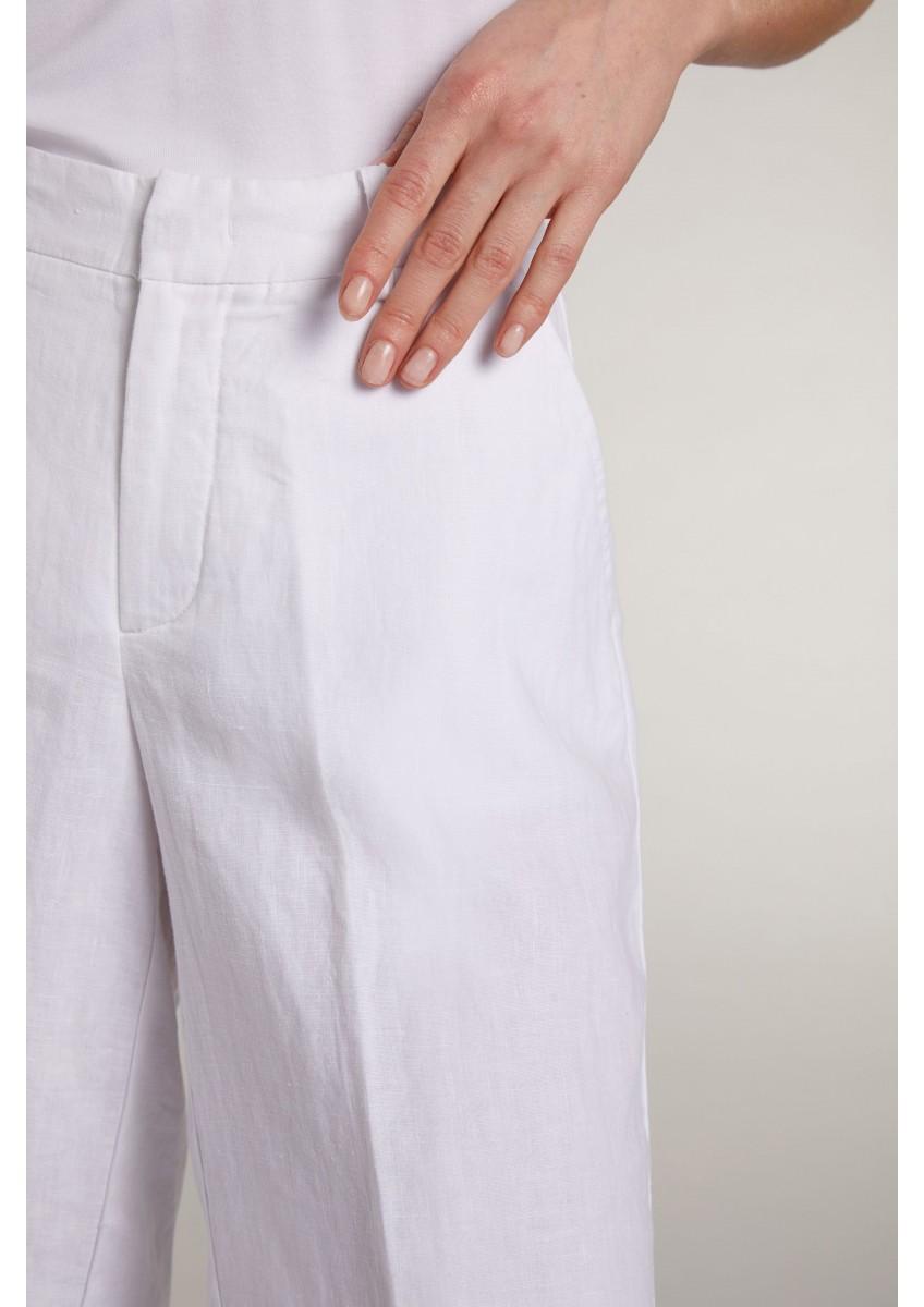 Женские шорты-бермуды из льна