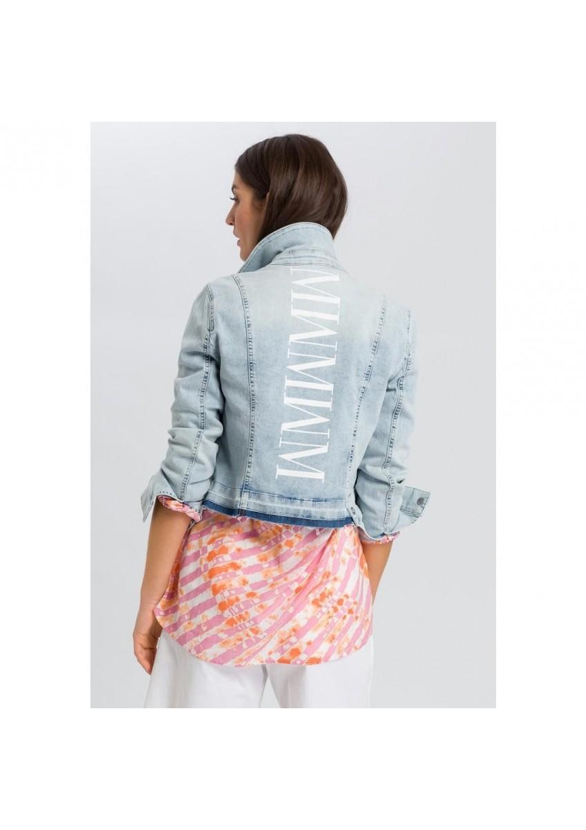 Женская джинсовая куртка